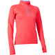 Salming Halfzip LS Tee Running Shirt longsleeve Women orange